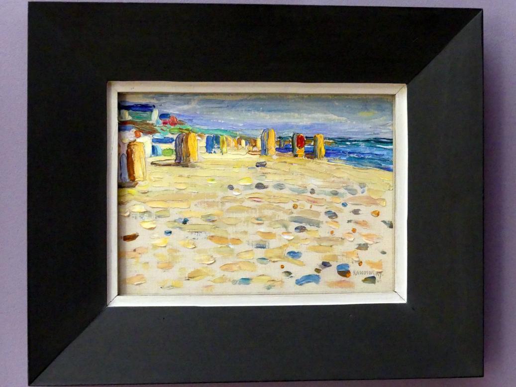 Wassily Kandinsky: Holland - Strandkörbe, 1904