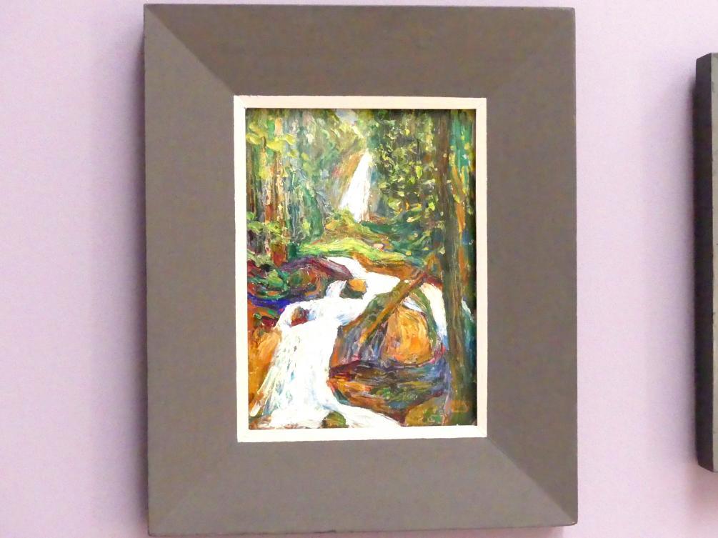 Wassily Kandinsky: Kochel - Wasserfall I, um 1900