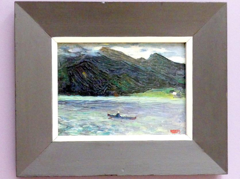 Wassily Kandinsky: Kochel - See mit Boot, 1902