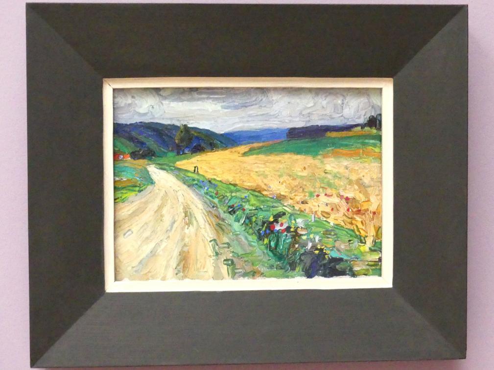 Wassily Kandinsky: Kallmünz - Naturstudie zur gelben Postkusche, 1903