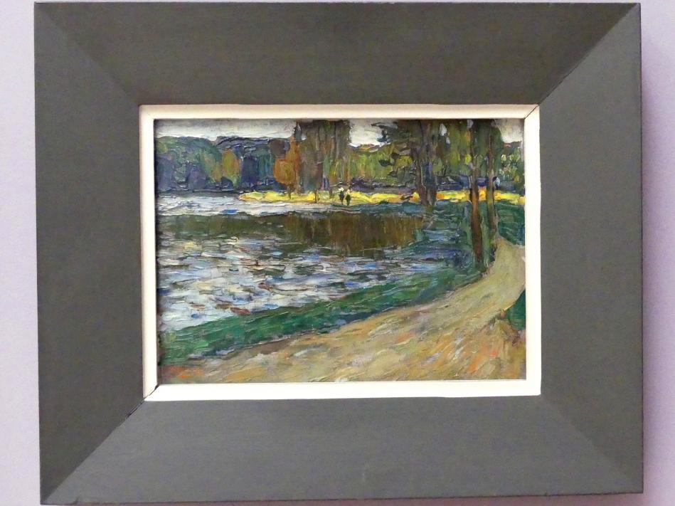 Wassily Kandinsky: München - Englischer Garten, 1901