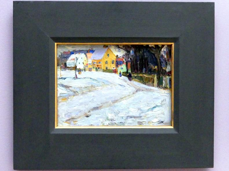 Wassily Kandinsky: Schwabing - Nikolaiplatz, 1901 - 1902