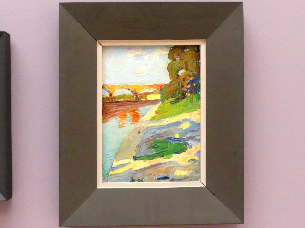 Wassily Kandinsky: München - Die Isar, 1901
