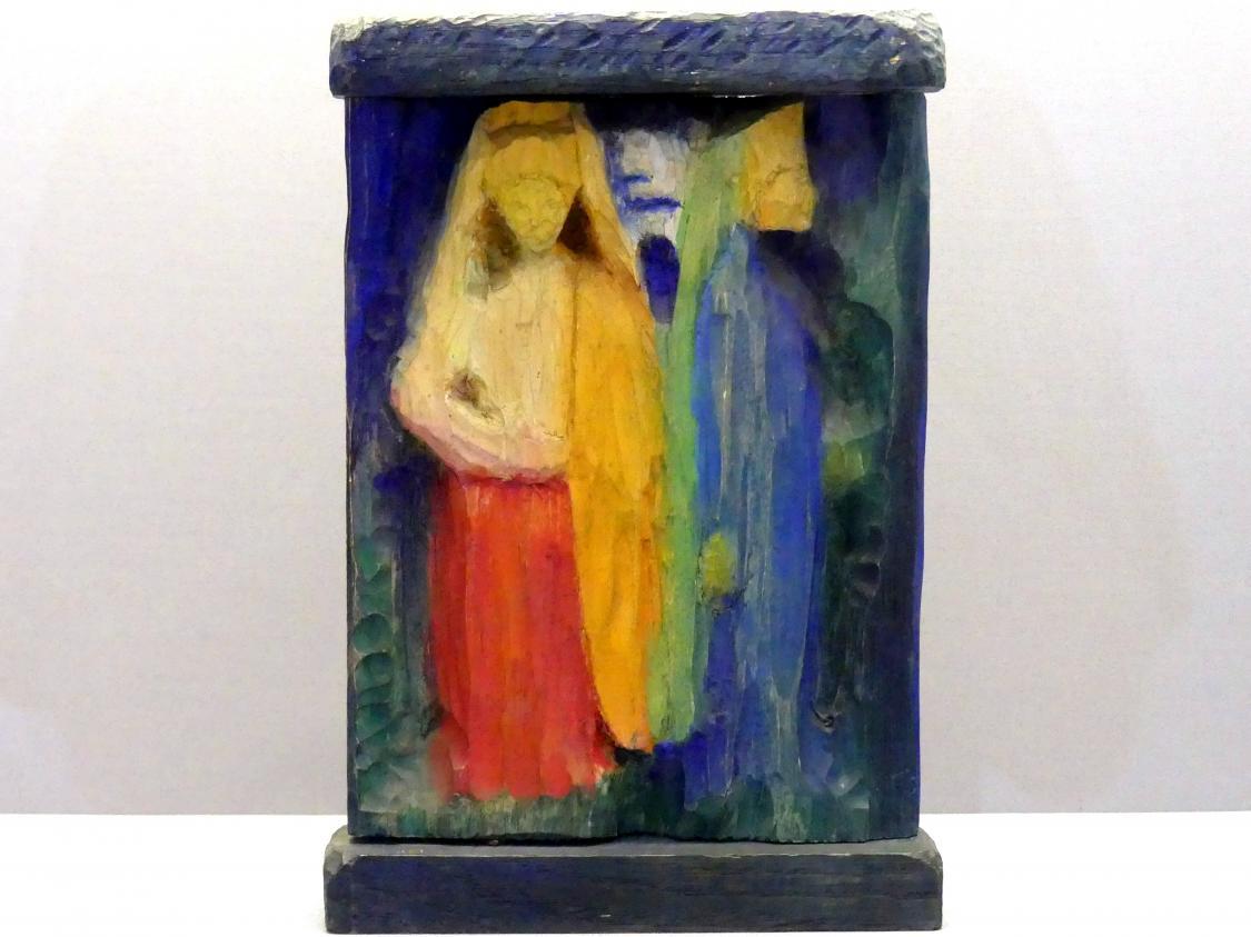Wassily Kandinsky: Zwei Figuren, 1908 - 1909
