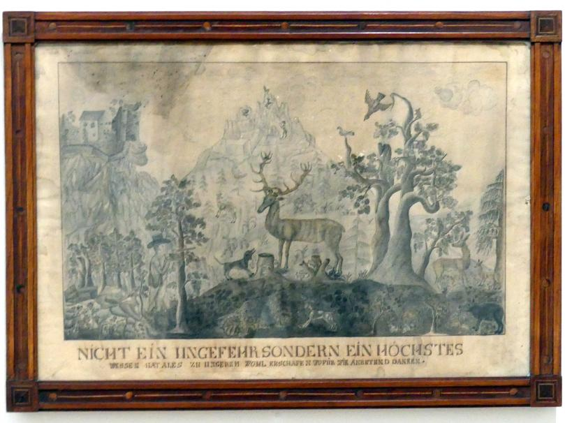 Jagdszenen, um 1800