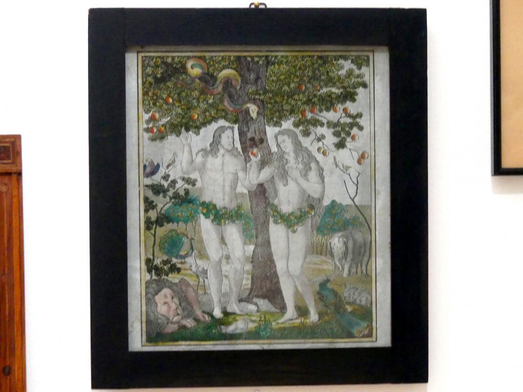 Adam und Eva unter dem Baum der Erkenntnis, 1700 - 1900