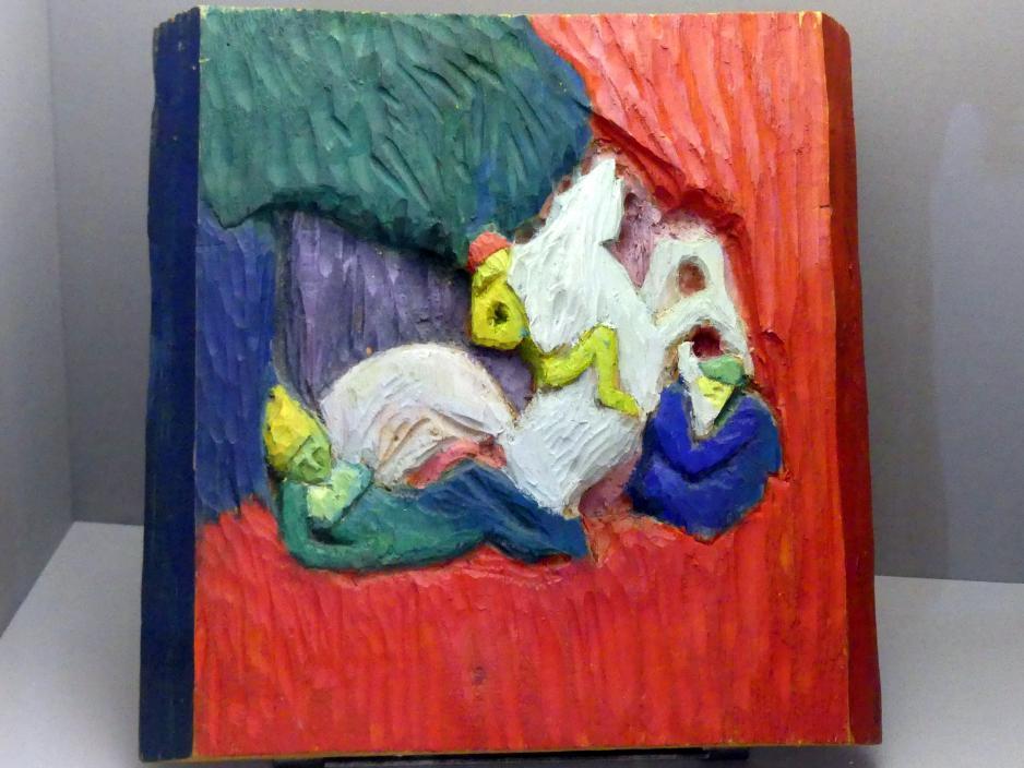 Wassily Kandinsky: Reiter, 1908 - 1909