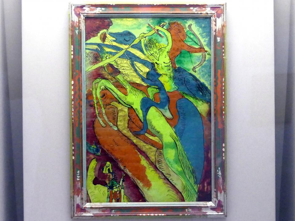 Wassily Kandinsky: Apokalyptischer Reiter I, 1911