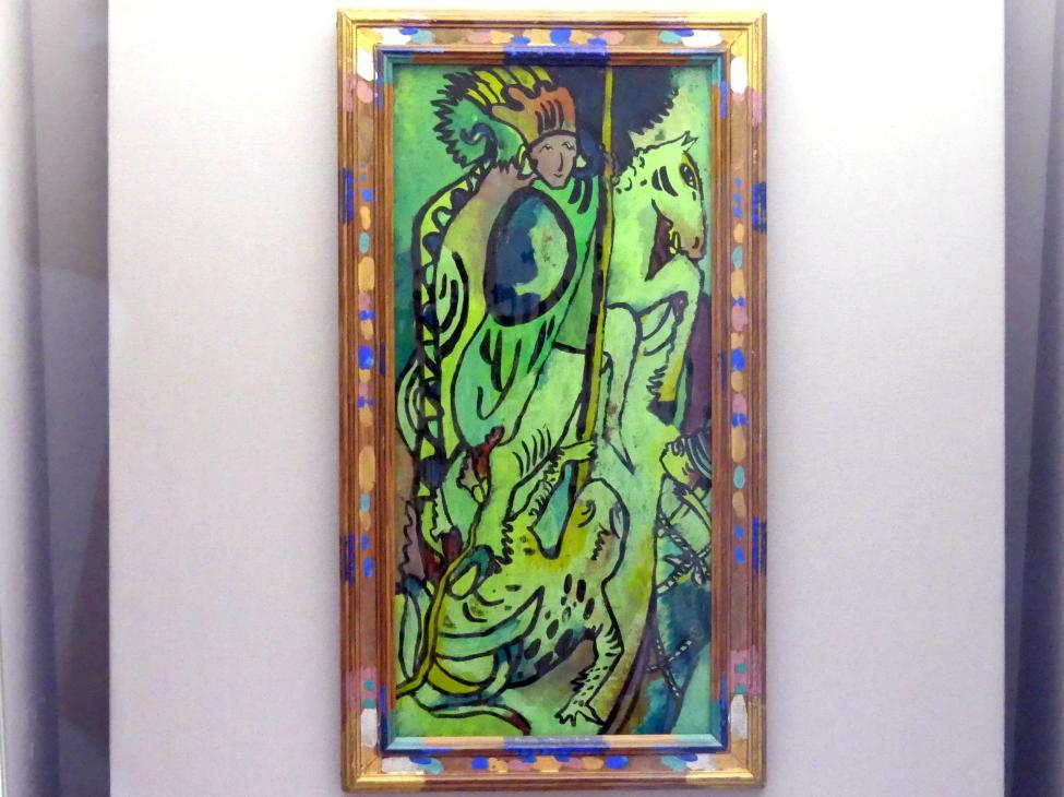Wassily Kandinsky: Heiliger Georg II, 1911