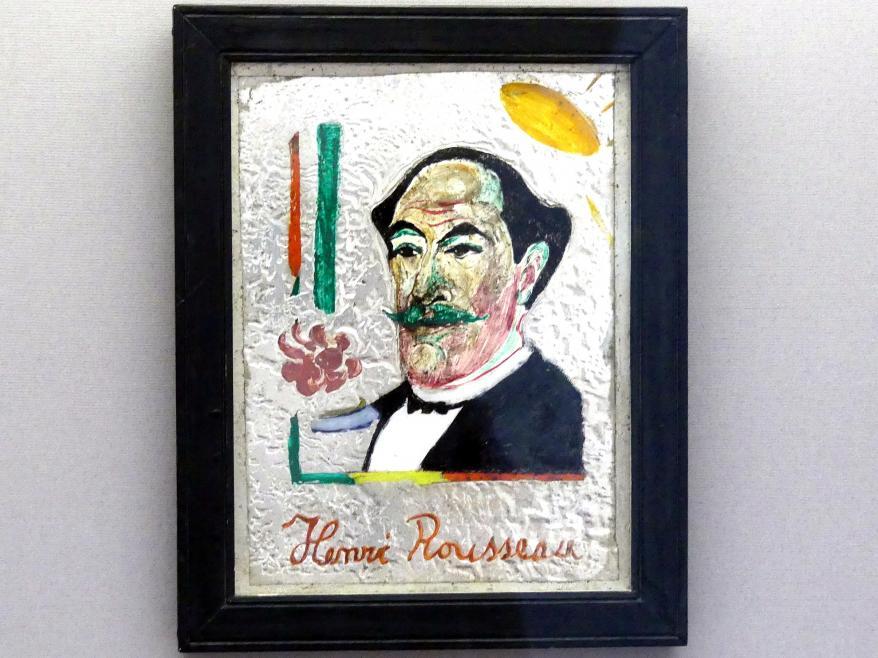 Franz Marc: Bildnis Henri Rousseau, 1911