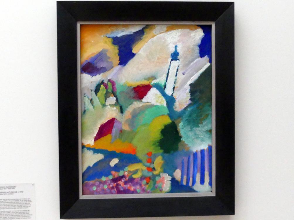 Wassily Kandinsky: Murnau mit Kirche I, 1910