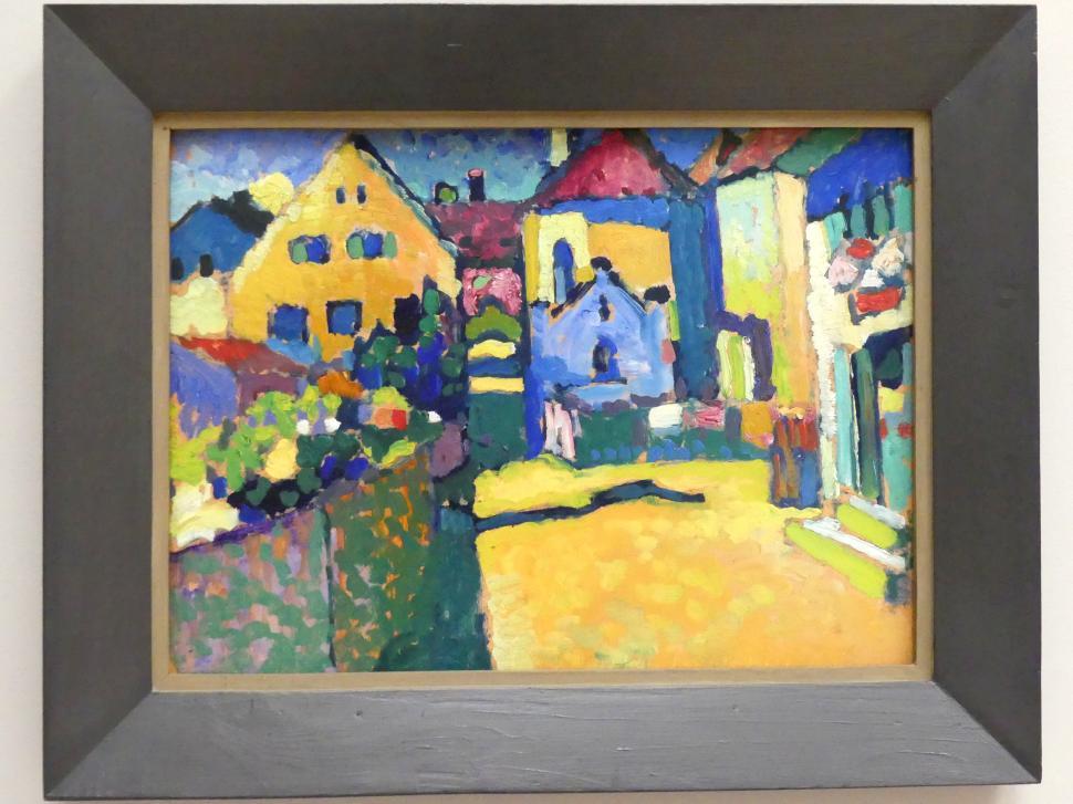 Wassily Kandinsky: Murnau - Grüngasse, 1909