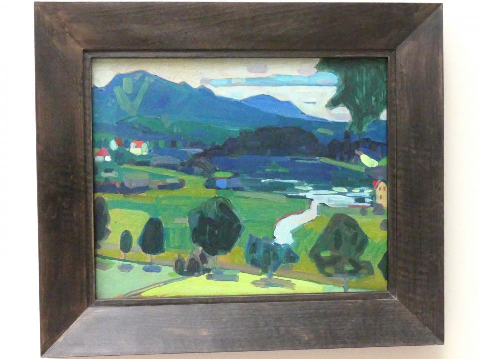 Wassily Kandinsky: Murnau - Blick über den Staffelsee, 1908