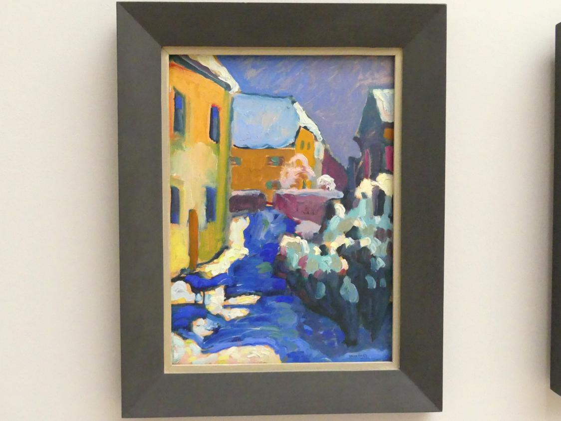 Wassily Kandinsky: Kochel - Friedhof und Pfarrhaus, 1909