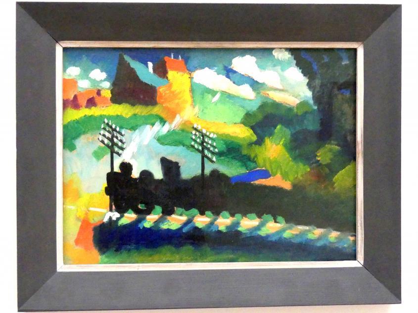 Wassily Kandinsky: Eisenbahn bei Murnau, 1909