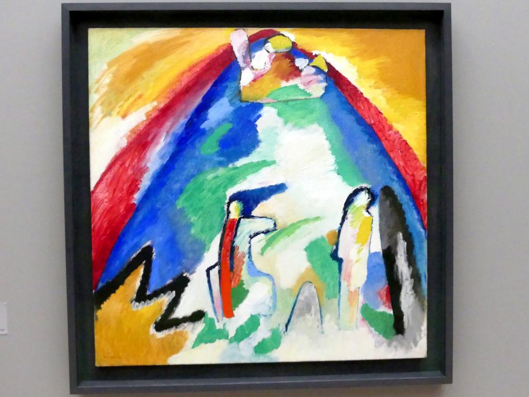 Wassily Kandinsky: Berg, 1909