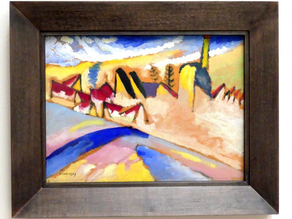 "Wassily Kandinsky: Studie zu ""Winter II"", 1910"