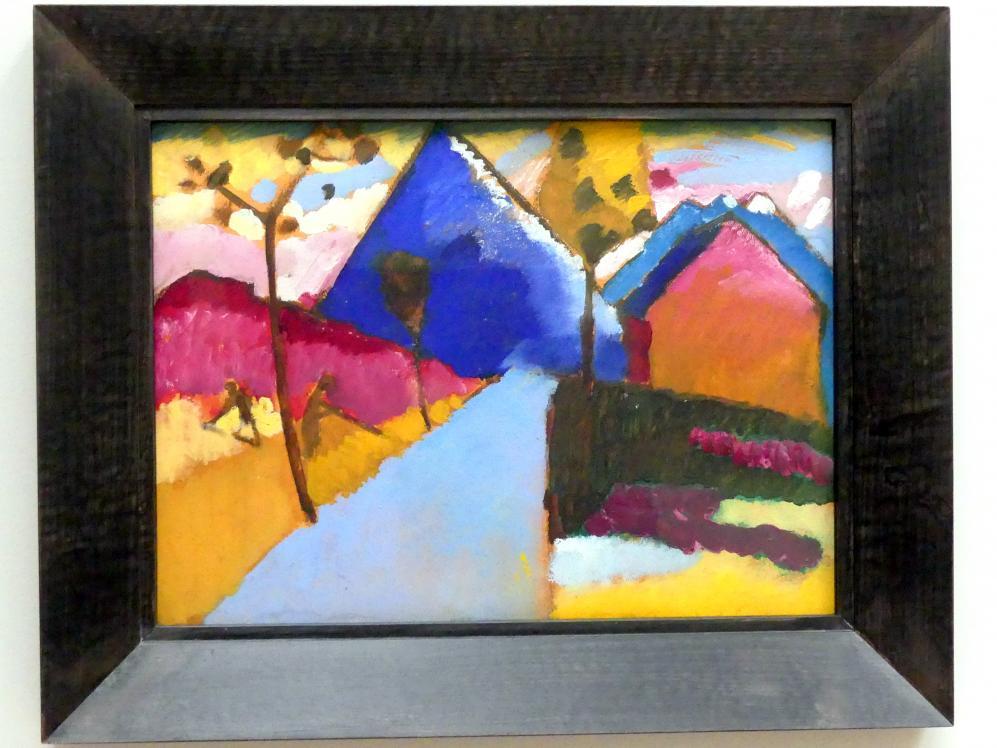 Wassily Kandinsky: Kochel - Gerade Strasse, 1909