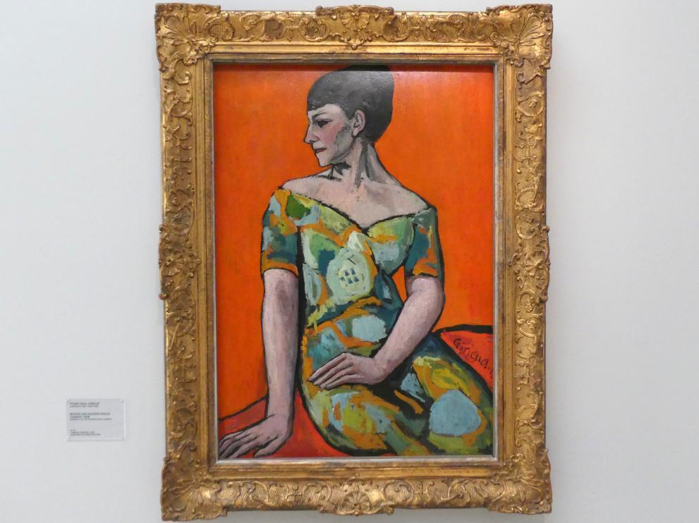 Pierre Girieud (Pierre-Paul Girieud): Bildnis der Malerin Émilie Charmy, 1908