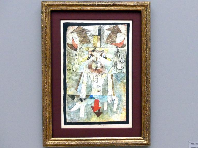 Paul Klee: Der wilde Mann, 1922