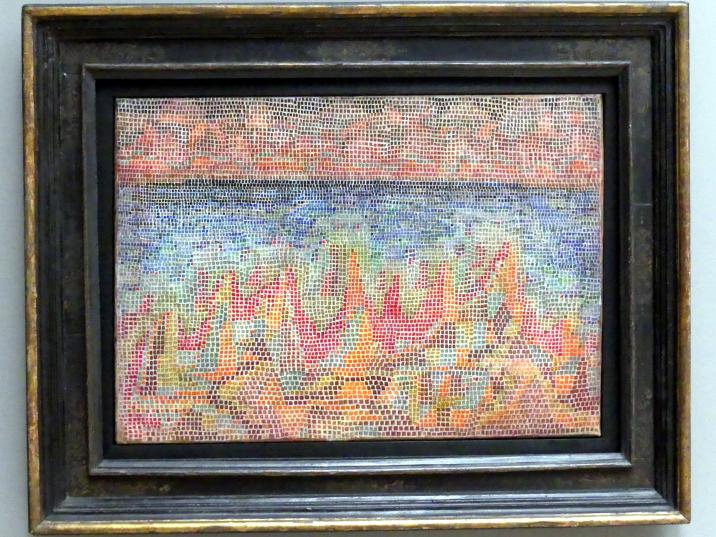 Paul Klee: Klippen am Meer, 1931