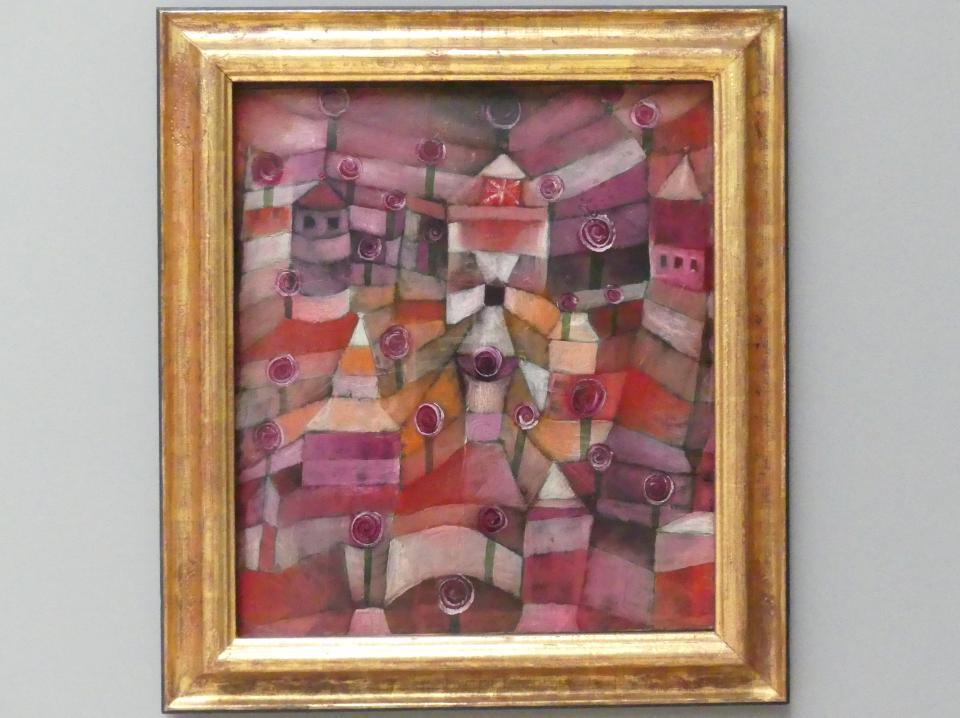 Paul Klee: Rosengarten, 1920