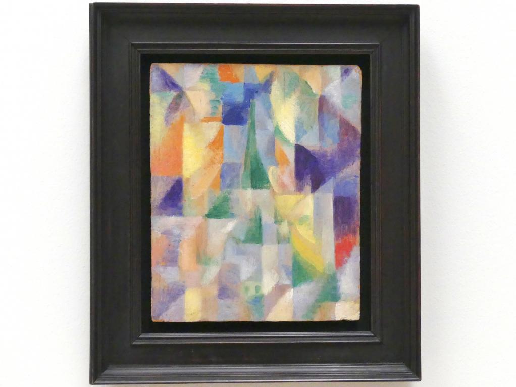Robert Delaunay: Fenêtre sur la ville, 1914