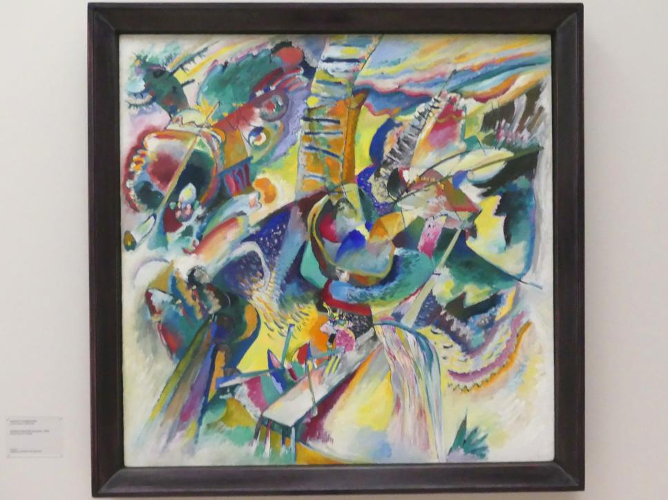 Wassily Kandinsky: Improvisation Klamm, 1914