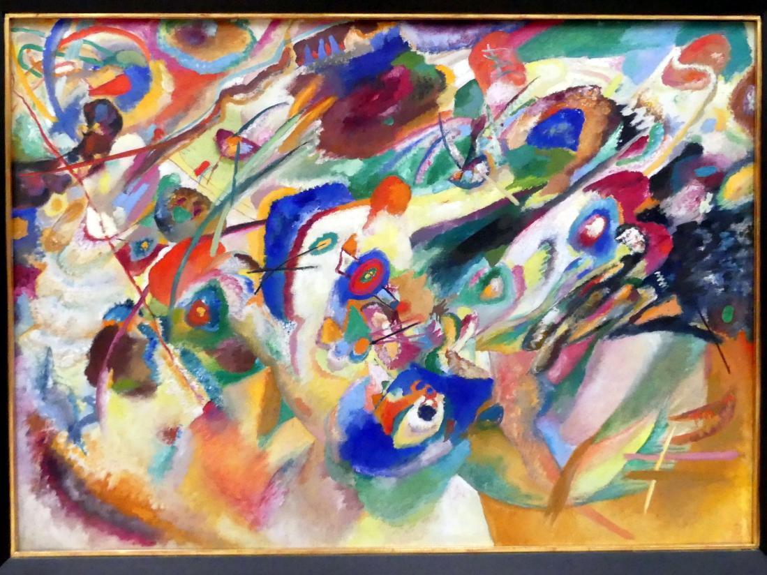 """Wassily Kandinsky: Entwurf 2 zu """"Komposition VII"""", 1913"""