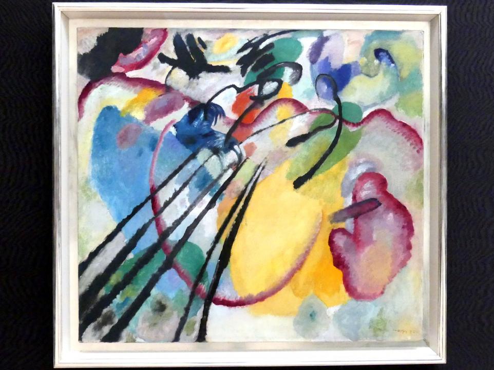 Wassily Kandinsky: Improvisation 26 (Rudern), 1912