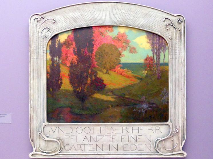 Richard Riemerschmid: Garten Eden, 1900