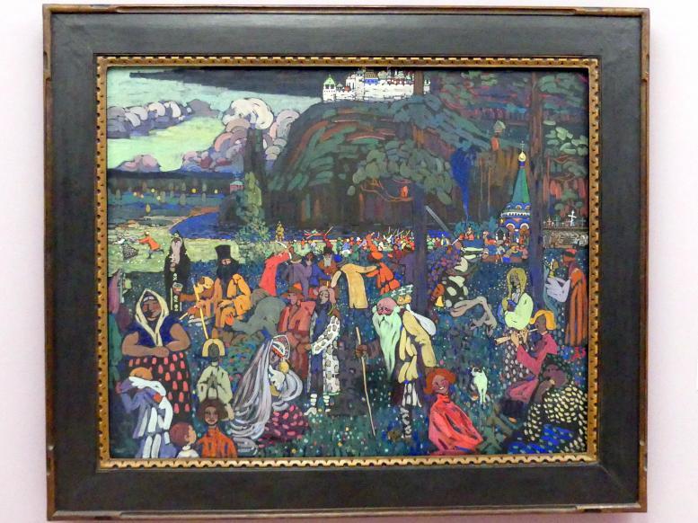 Wassily Kandinsky: Das bunte Leben, 1907