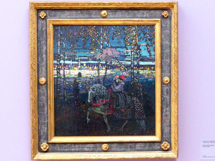 Wassily Kandinsky: Reitendes Paar, 1907