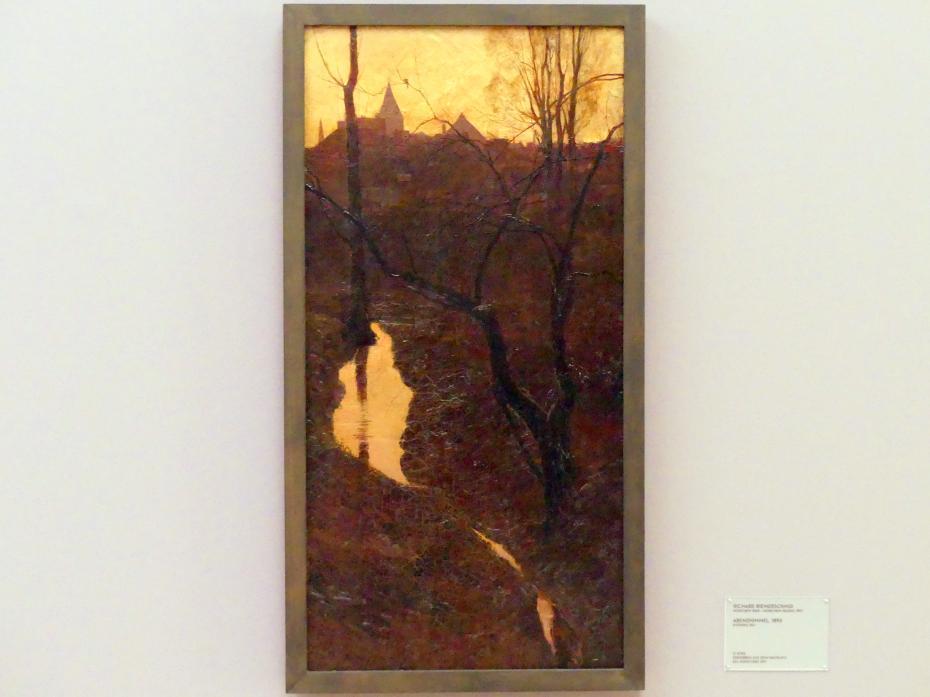 Richard Riemerschmid: Abendhimmel, 1893
