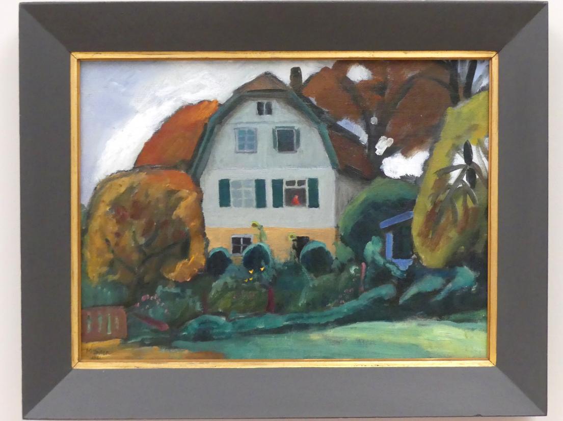 Gabriele Münter: Das Russen-Haus, 1931