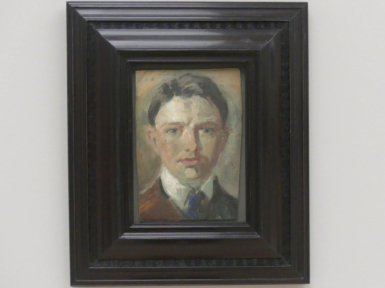 August Macke: Studie zu einem Selbstbildnis, 1907