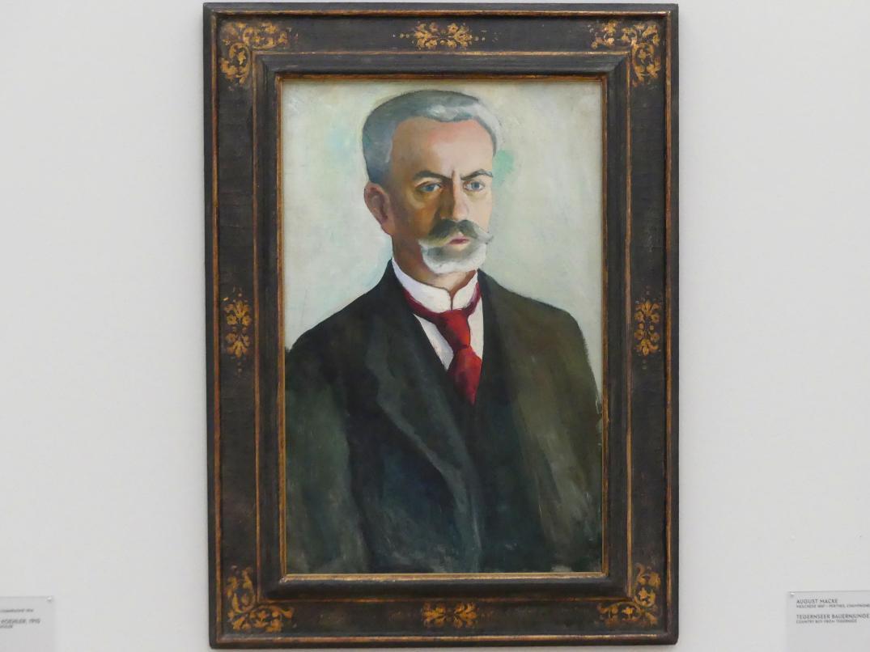 August Macke: Bildnis Bernhard Koehler, 1910