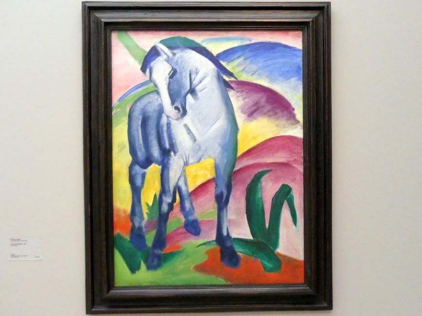 Franz Marc: Blaues Pferd I, 1911