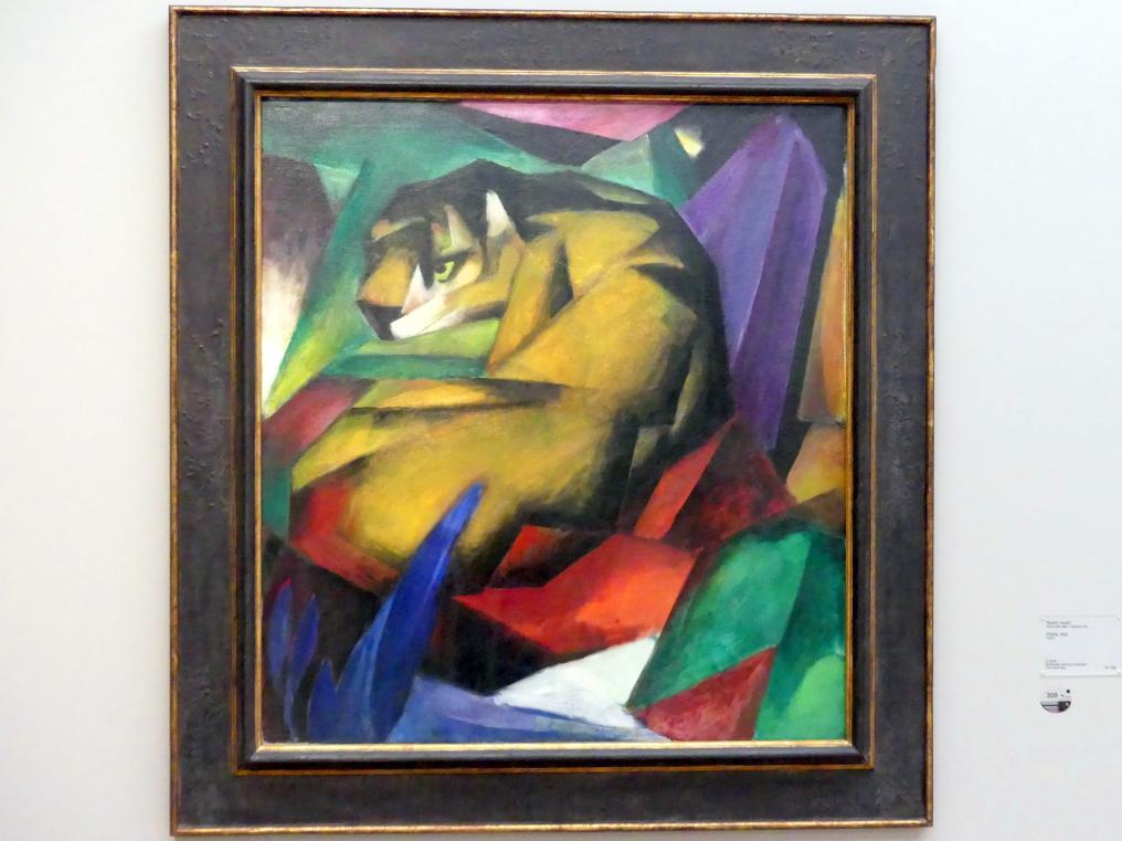 Franz Marc: Tiger, 1912