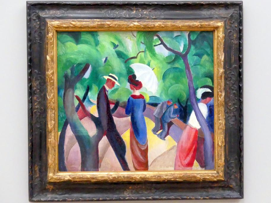August Macke: Promenade, 1913