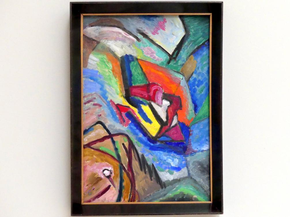Gabriele Münter: Abstrakt (Studie), 1918
