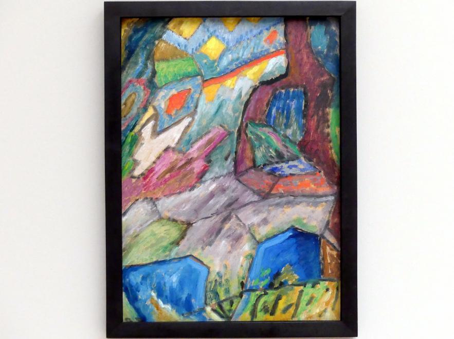 Gabriele Münter: Abstrakte Studie Nr. 6, 1915
