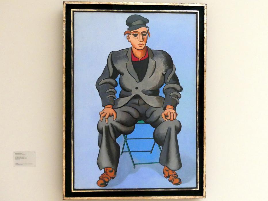 Jean Hélion: Sitzender Mann (L'Homme assis), 1947