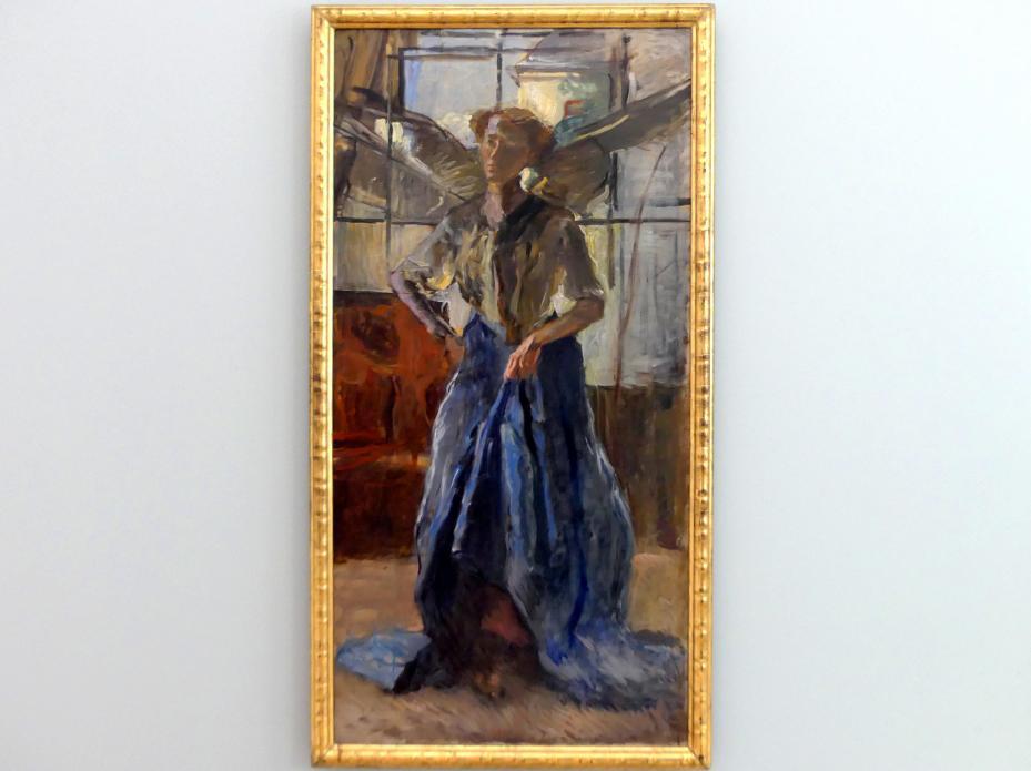 Fritz von Uhde: Engel im Atelier, 1910