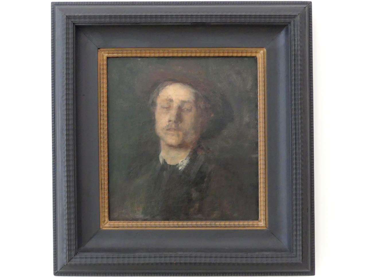 Wilhelm Leibl: Bildnis eines Blinden, um 1865 - 1867