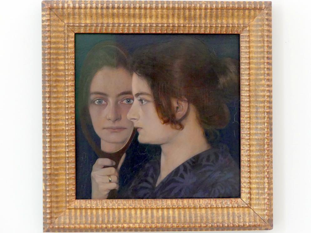 Oskar Zwintscher: Bildnis der Frau des Künstlers, 1901