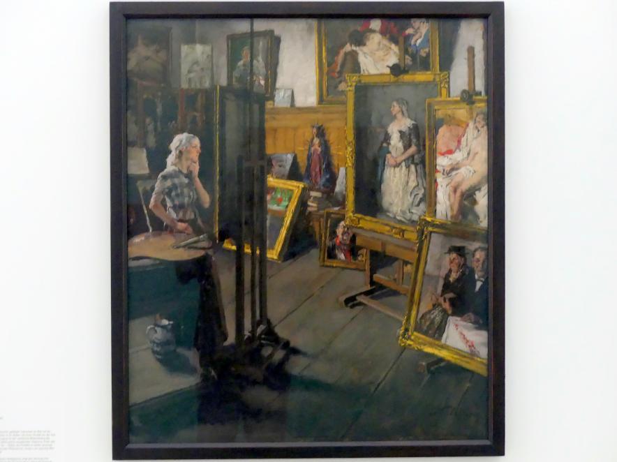 Péter Kálmán: Atelierpause, um 1940