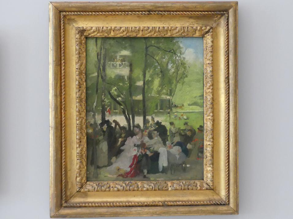 Fritz Schider: Chinesischer Turm, 1877