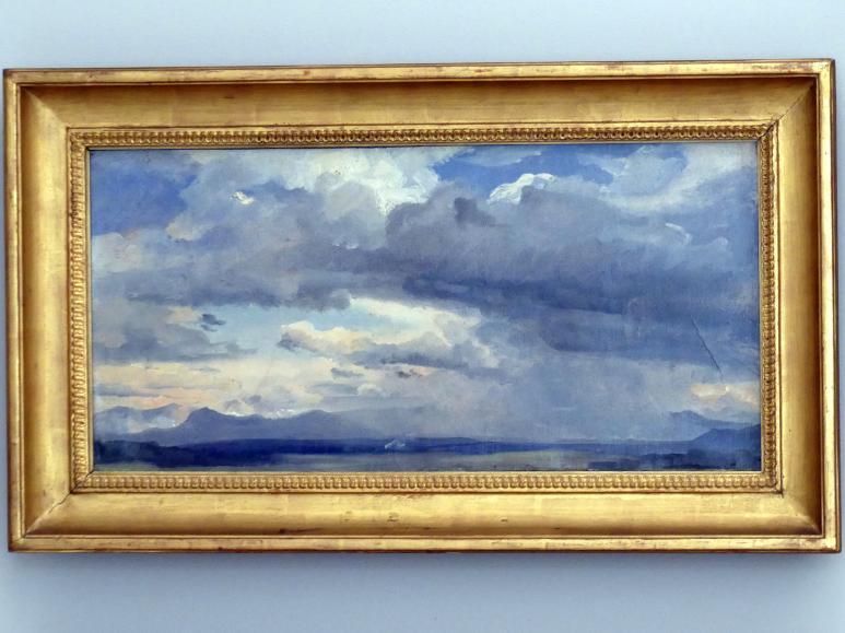 Carl Rottmann: Vorgebirgslandschaft bei Murnau, um 1830 - 1840