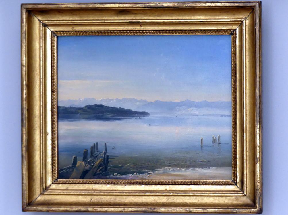 Christian Ernst Bernhard Morgenstern: Der Starnberger See, um 1840 - 1850